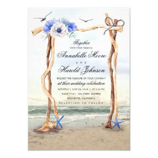 Beach Arbor Wedding Invitations