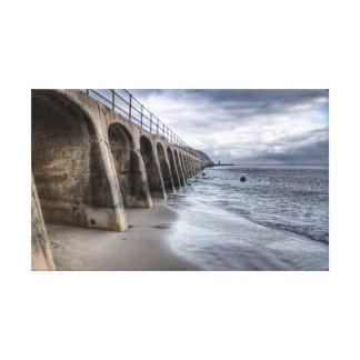 Beach Arches Canvas Prints