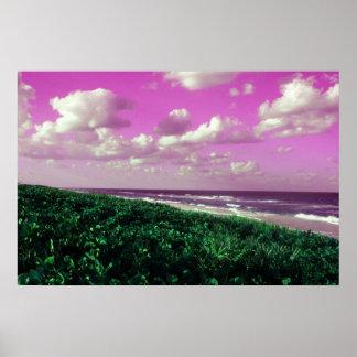 beach art photo digital poster print