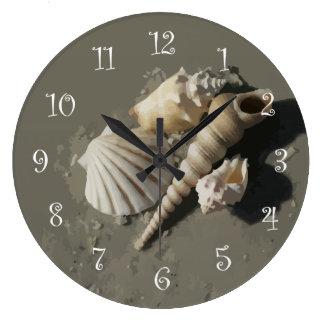 Beach Art Wall Clocks