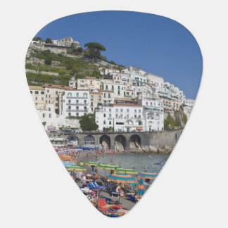 Beach at Amalfi, Campania, Italy Guitar Pick