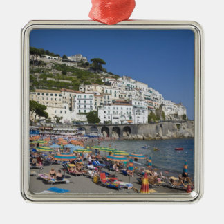 Beach at Amalfi, Campania, Italy Metal Ornament