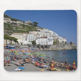 Beach at Amalfi, Campania, Italy Mouse Pad