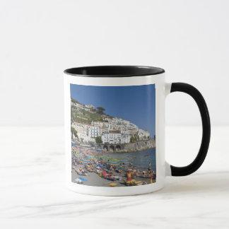 Beach at Amalfi, Campania, Italy Mug
