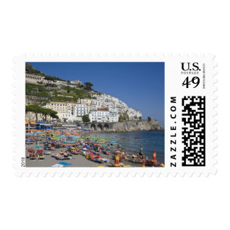 Beach at Amalfi, Campania, Italy Postage Stamp