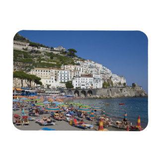 Beach at Amalfi, Campania, Italy Rectangle Magnets