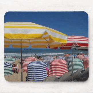 Beach at Biarritz Mouse Pad