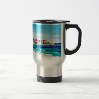 Beach at Bondi Travel Mug