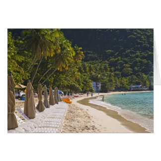 Beach at Cane Garden Bay, Island of Tortola Card