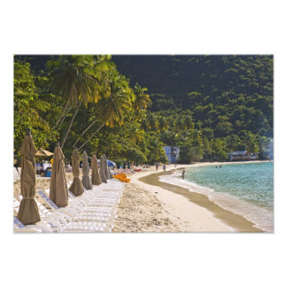Beach at Cane Garden Bay, Island of Tortola Photo Print