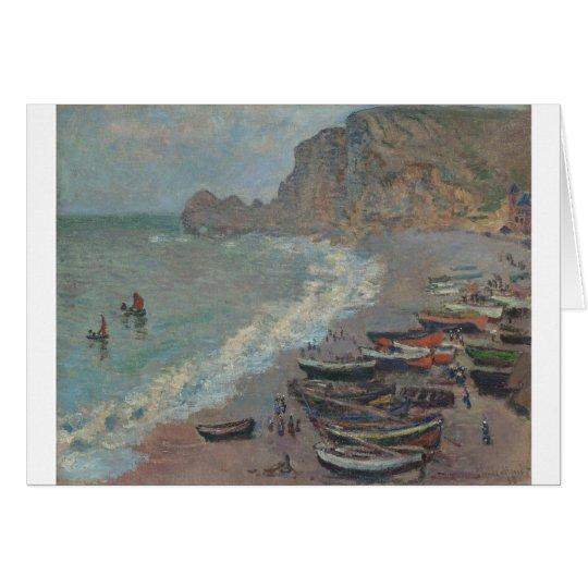 Beach at Étretat (1883) Card
