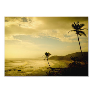 Beach at Goa Card