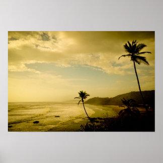 Beach at Goa Print