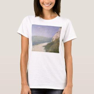 Beach at Honfleur by Georges Seurat, Vintage Art T-Shirt