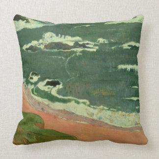 Beach at Le Pouldu, 1889 Pillows