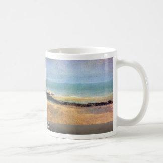 Beach At Low Tide By Edgar Degas Coffee Mug