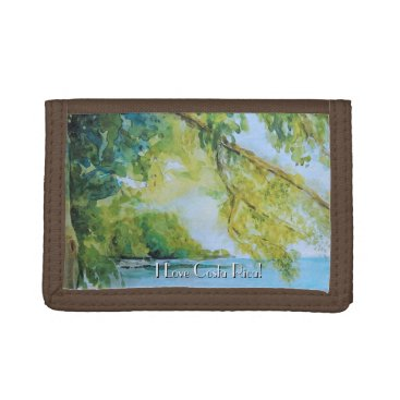 Beach at Manuel Antonio Costa Rica Trifold Wallets