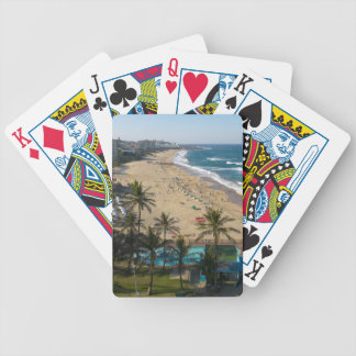 Beach At Margate, South Coast, Kwazulu-Natal 2 Bicycle Playing Cards