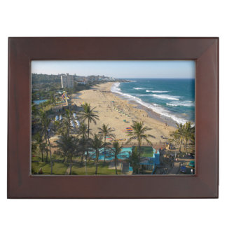 Beach At Margate, South Coast, Kwazulu-Natal 2 Memory Box