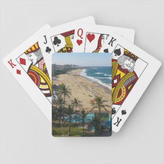 Beach At Margate, South Coast, Kwazulu-Natal 2 Playing Cards