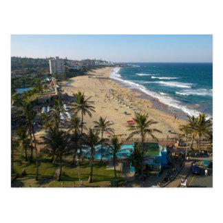 Beach At Margate, South Coast, Kwazulu-Natal 2 Postcard