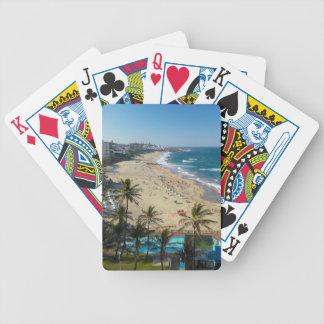 Beach At Margate, South Coast, Kwazulu-Natal Bicycle Playing Cards