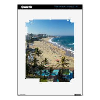 Beach At Margate, South Coast, Kwazulu-Natal iPad 3 Skin