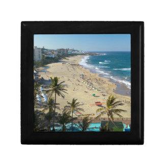 Beach At Margate, South Coast, Kwazulu-Natal Keepsake Box