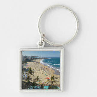Beach At Margate, South Coast, Kwazulu-Natal Keychain