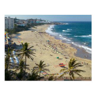 Beach At Margate, South Coast, Kwazulu-Natal Postcard