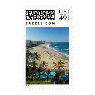 Beach At Margate, South Coast, Kwazulu-Natal Stamp