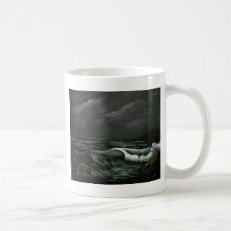 beach at night.jpg coffee mug