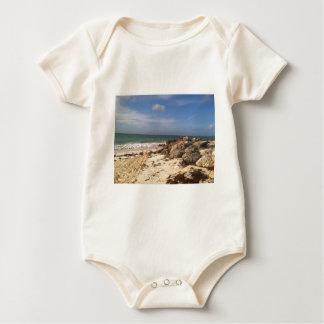Beach at Port Lucaya, Freeport, Bahamas Baby Bodysuit