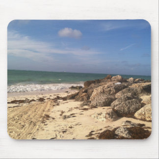 Beach at Port Lucaya, Freeport, Bahamas Mouse Pad