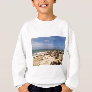 Beach at Port Lucaya, Freeport, Bahamas Sweatshirt