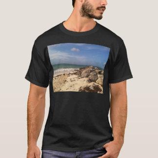 Beach at Port Lucaya, Freeport, Bahamas T-Shirt