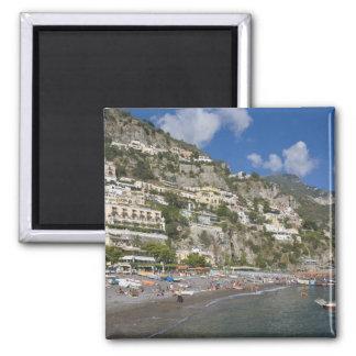 Beach at Positano, Campania, Italy Magnet