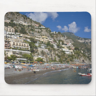 Beach at Positano, Campania, Italy Mouse Pad