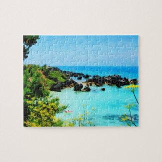 Beach at St. George Bermuda Jigsaw Puzzles