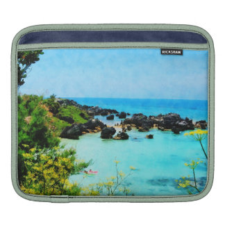 Beach at St. George Bermuda Sleeve For iPads