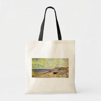 Beach At Ste. Address By Jongkind Johan Barthold ( Canvas Bag