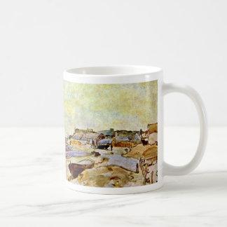 Beach At Ste Address By Jongkind Johan Barthold Coffee Mugs
