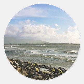 Beach At Strandhill Sticker