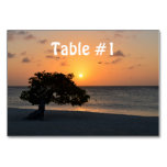 Beach at Sunset Card