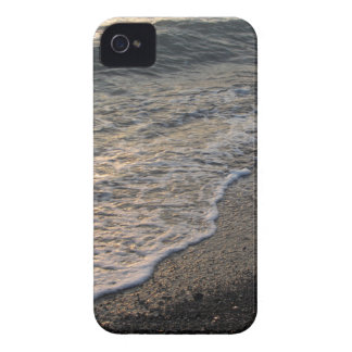 Beach at sunset iPhone 4 covers