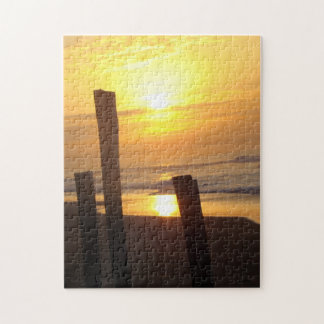 Beach At Sunset Puzzle