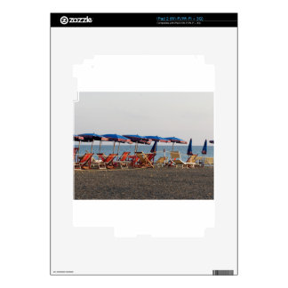 Beach at sunset decal for the iPad 2