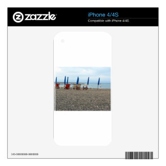 Beach at sunset decal for the iPhone 4S