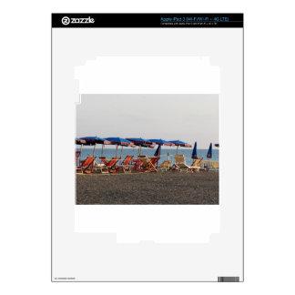 Beach at sunset skin for iPad 3