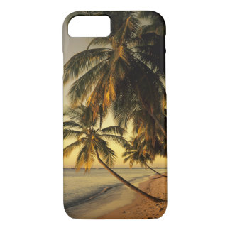 Beach at sunset, Trinidad iPhone 7 Case